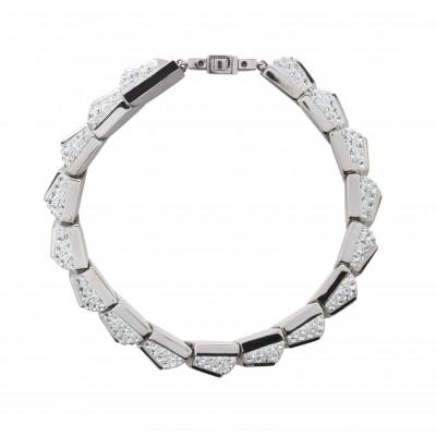 #SOLDES #BELLEZZABIANCA #BELLEZZA #BIANCA #bijoux #Swarovski #luxe #hautdegamme #AtelierSWAROVSKI #MIRA #Bracelet #Light #Azore