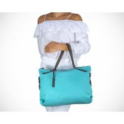 Aurelia bleu turquoise