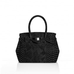 Miss Plus Python Noir Save My Bag