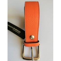Ceinture orange Massimo Frattasio Medium