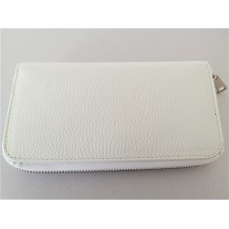 Compagnon Portefeuilles Blanc Made in Italy