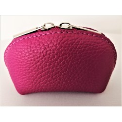 Porte Monnaie Delia fuschia Made in Italy
