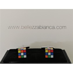 Boutons de Manchette Rubik cube
