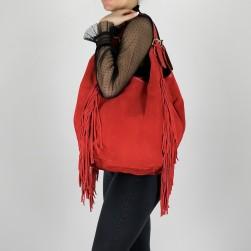 Clara Daim Frange rouge
