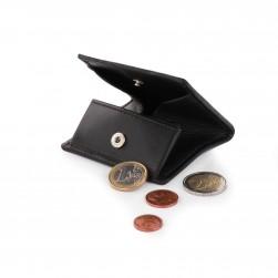 Porte-Monnaie Hommes à soufflet carré Roncato Noir