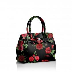 Miss Plus RED ROSES Save My Bag