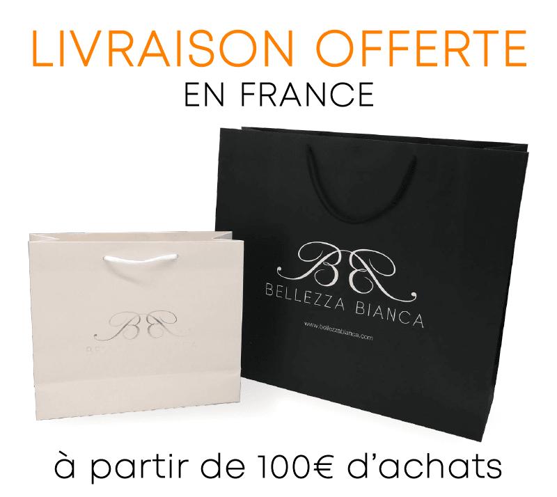 BELLEZZA BIANCA, Livraison Offerte à partir de 100 €, profitez-en !